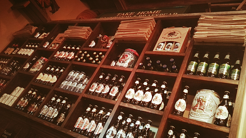 Wychwood Brewery Store