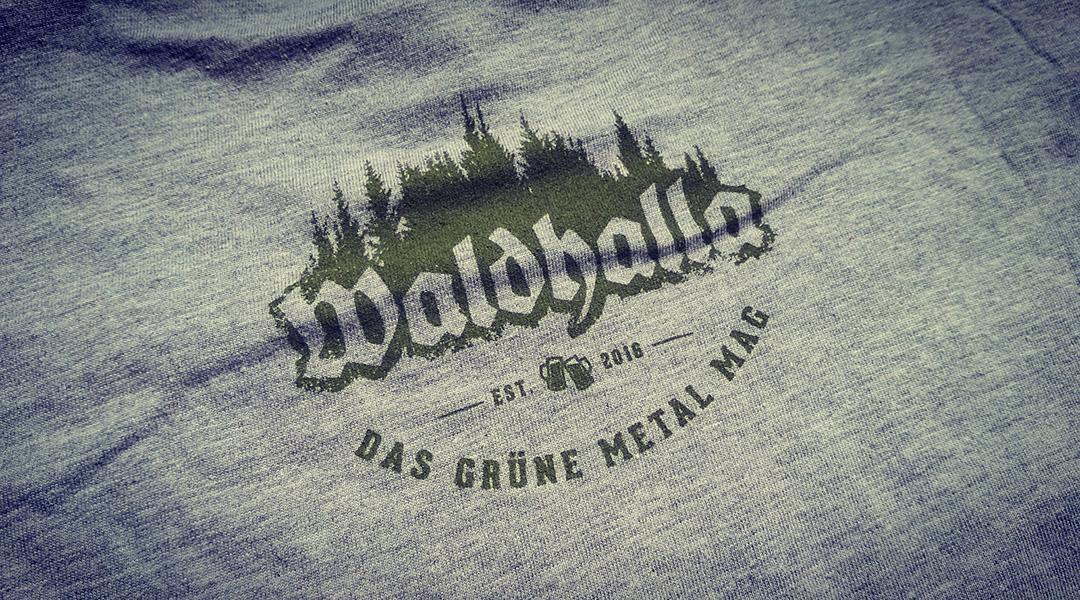 Waldhalla Girlie Shirt Back