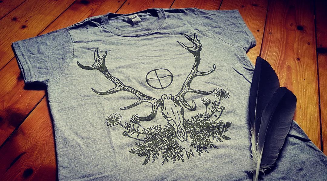 Waldhalla Girlie Shirt Front