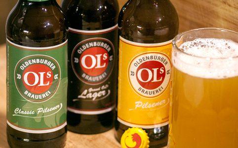 Oldenburger Brauerei - Ols Pilsener, Ols Classic Pilsener, Grand Ols Lager