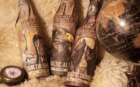 Rügener Insel-Brauerei - Baltic Ale, Baltic Dubbel, Baltic Tripel