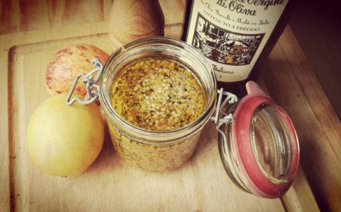 Curry-Hanf-Aufstrich
