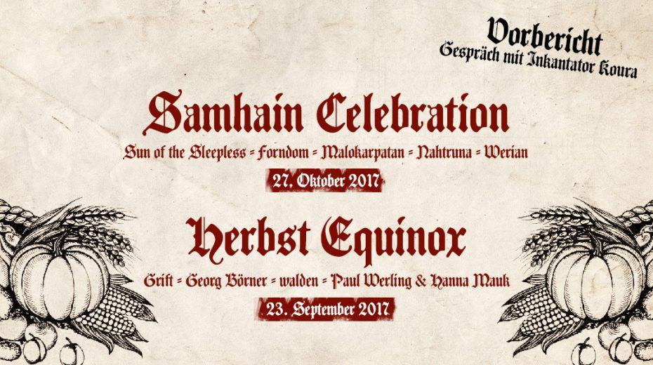 Herbst Equinox & Samhain Celebration 2017