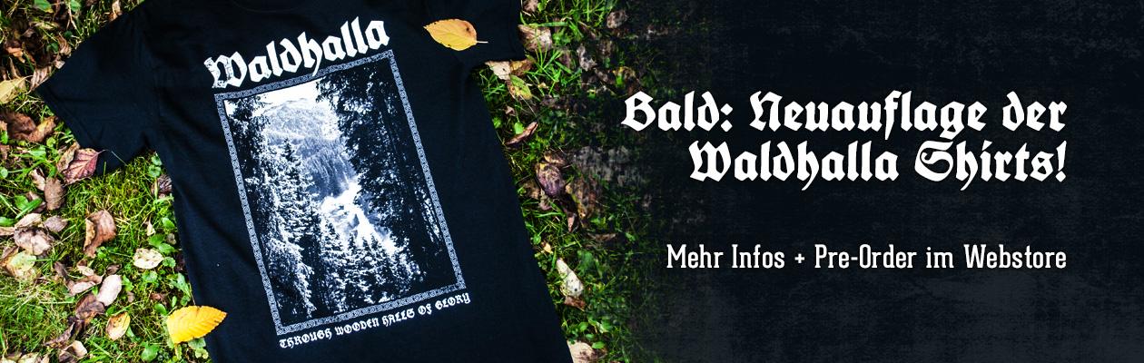 Neuauflage Waldhalla Shirts