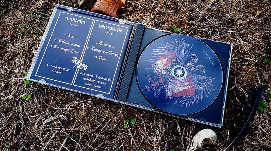 Mavorim / Totenwache - Verbrannte Erde