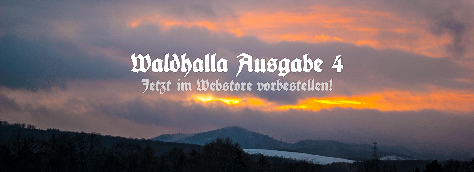Waldhalla Ausgabe #4 Pre-Order